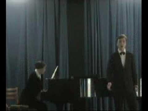 Oleg Lebedev sings Thaikovsky's song