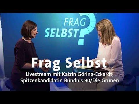 "Livestream: ""Frag selbst"" mit Katrin Göring-Eckardt (B90/Grüne)"