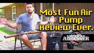 Air Gun Compressor Review + Umarex Gauntlet Air Rifle Jenga