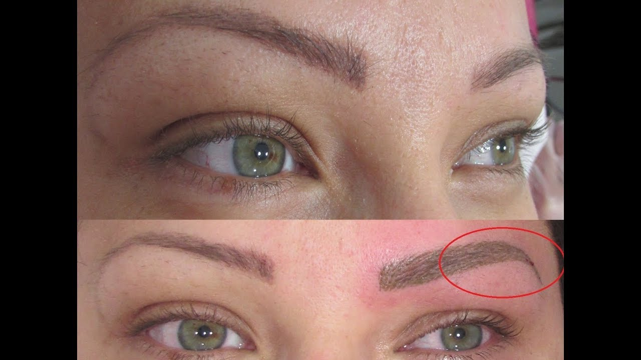 Detatouage Maquillage Permanent Des Sourcils By Tani Youtube