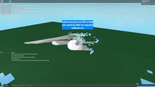 Roblox Script Showcase Episode#601/Map Destroying Cube