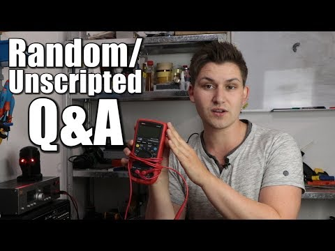 Random/Unscripted Q&A