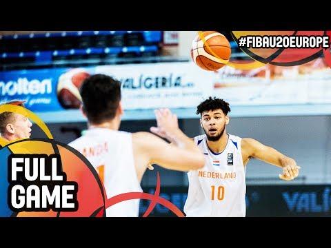 Slovak Republic v Netherlands - Full Game - FIBA U20 European Championship 2017 - DIV B