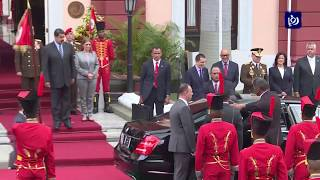 الرئيس الفلسطيني يطالب دول اميركا اللاتينية بعدم نقل سقارتهم للقدس المحتلة - (8-5-2018)