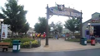 Rides Closed Due to Impending Storm Six Flags Great America 7-18-15