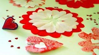Делаем салфетку-Валентинку для романтического ужина