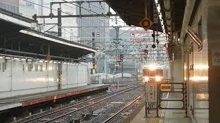 遅れ約4分。313系Y38✙Y34編成当駅止まり名古屋5番線到着