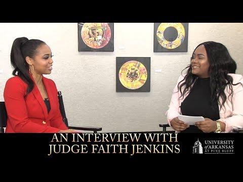 An  With Judge Faith Jenkins