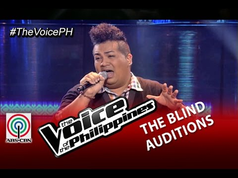"""The Voice of the Philippines Blind Audition """"One Last Cry"""" by Charles Catbagan (Season 2)"""