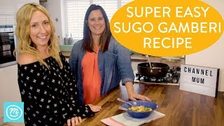 How To Make Sugo Gamberi | Take It Make It With Iceland & Channel Mum | Ad
