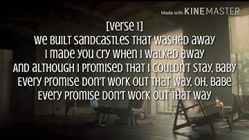 Beyoncé - Sandcastles Lyrics