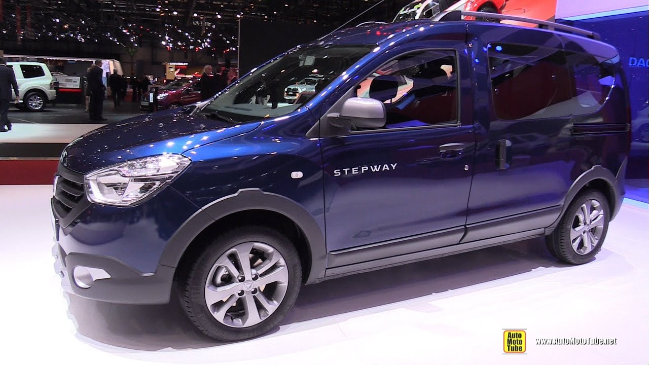 2016 dacia dokker stepway exterior and interior walkaround 2016 geneva motor show youtube. Black Bedroom Furniture Sets. Home Design Ideas