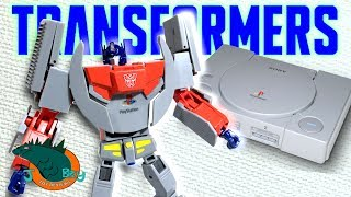 One of JobbytheHong's most viewed videos: Optimus Prime Playstation X Transformers Review