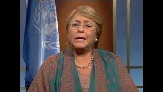 Michelle Bachelet: Journée internationale de la fille