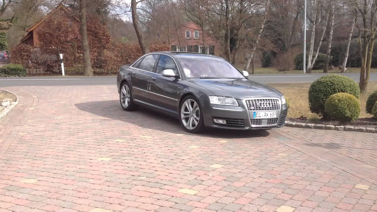 audi s8 5 2 fsi v10 sound youtube. Black Bedroom Furniture Sets. Home Design Ideas