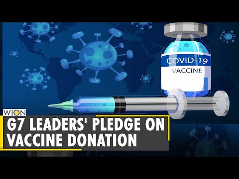 G7 leaders to donate 1 billion vaccine doses worldwide| Britain | Global Vaccination Drive | UK News