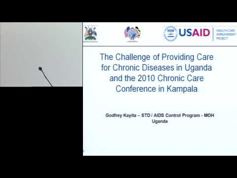 Amsterdam 2011 Presentation - Kampala 2010 - Applying quality improvement to HIV/AIDS