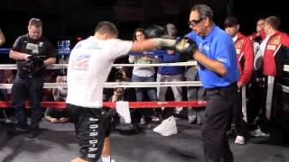 'GGG' GENNADY GOLOVKIN POWER PAD WORKOUT W/ ABEL SANCHEZ @ MSG, NEW YORK / GOLOVKIN v LEMEIUX