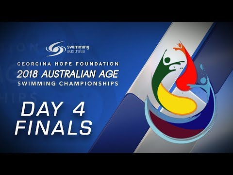 Day 4 FINALS - 2018 GEORGINA HOPE FOUNDATION AUSTRALIAN AGE SWIMMING CHAMPIONSHIPS
