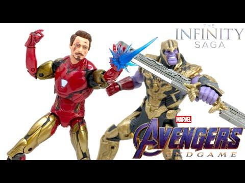 Download Marvel Legends INFINITY SAGA Avengers Endgame IRON MAN MK85 & THANOS Final Battle Review