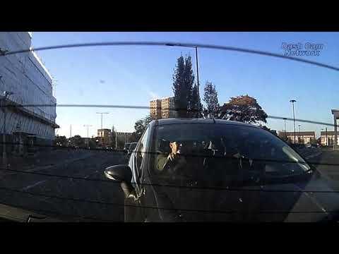 Driver Gets Rear Ended UK Dash Cam Footage