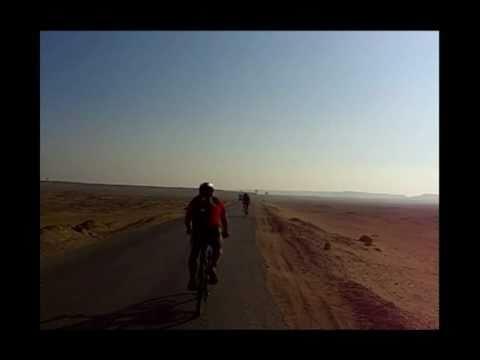 De Luxor a El Cairo en bicicleta 2010