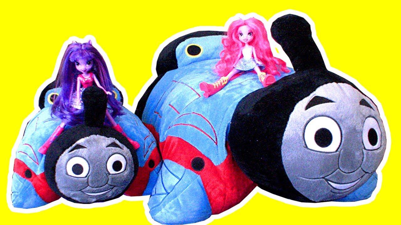 Thomas The Tank JUMBO Pillow Pet Complete Brony Luxury