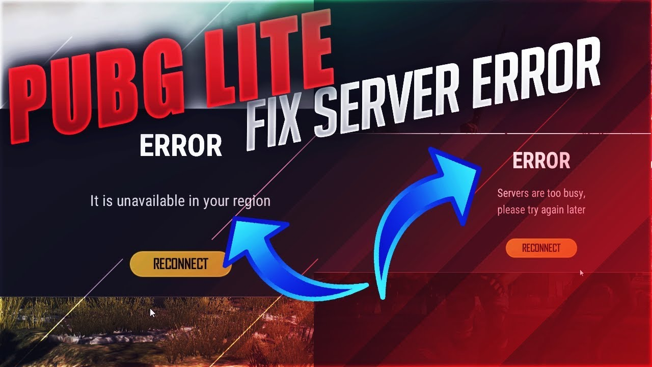 How To Fix Pubg Lite Server Error Play Pubg Lite From Any Country