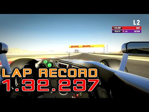 F1 2012 BAHRAIN FOR MY BROTHER LAP RECORD