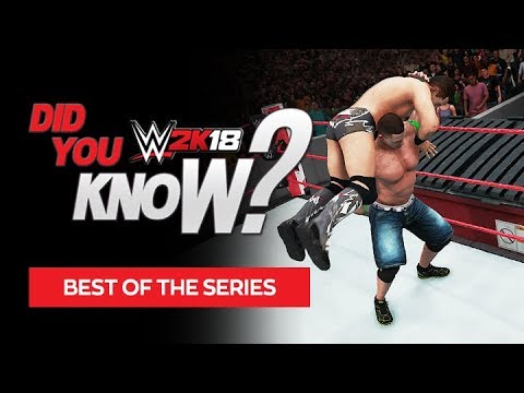 WWE 2K18 Did You Know? Hidden Features, Superstars, Matches, Cutscenes & More! (Best of DYK #1)