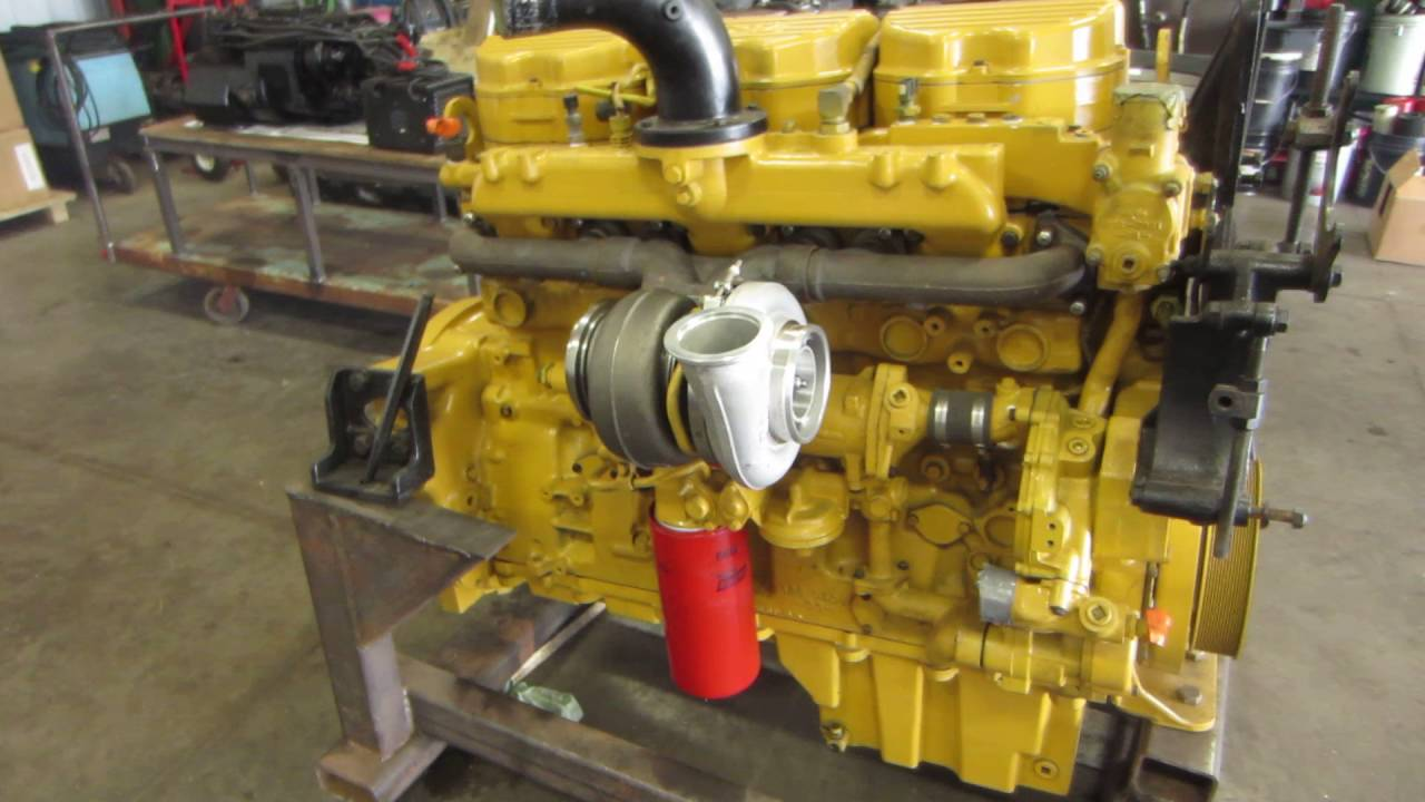 9ns Caterpillar C12 Engine
