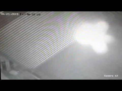Fritz Blog (57563) - Strange Ghostly Spirit Captured in Parking Garage Footage