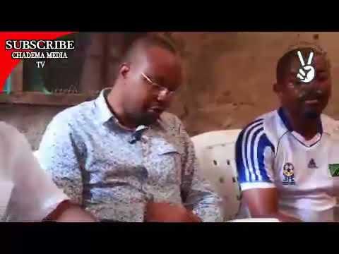 Mhe John Mnyika afika Nyumbani kwao Akwelini na kutoa salamu za pole kwa niaba ya Chama
