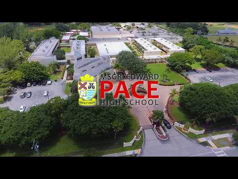 Campus Drone Tour | Monsignor Edward PACE High School | UADV
