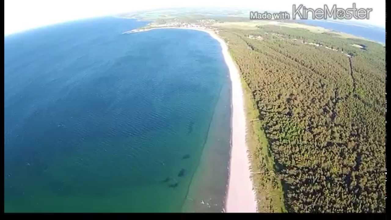 Super schöner Strand bei Glowe auf der Insel Rügen - YouTube  Super schöner ...