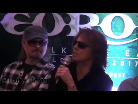 Press Conference Volcano Rock festival Europe & God Bless