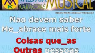 Música Suave Roberto Carlos Karaoke