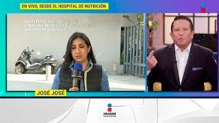 Desde el Hospital Nutrición, sabemos sobre la salud de José José | De Primera Mano