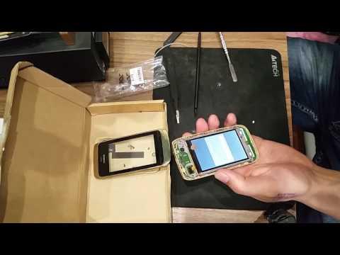 Замена дисплея на Nokia 308!