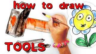 How to draw tools