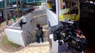 Stunt work for Mediacorp - WHEN DUTY CALLS 卫国先锋  | Parkour Singapore | A2 Parkour