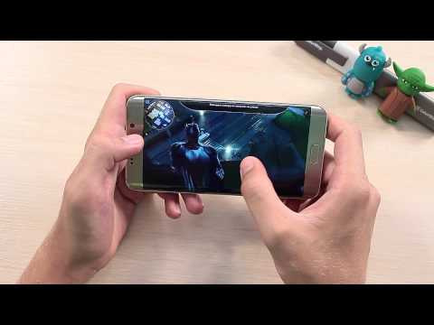 Samsung Galaxy S6 Edge + Тест Игр