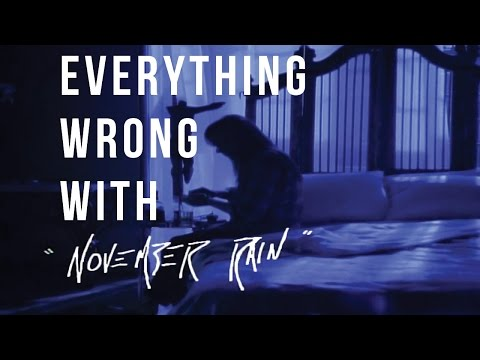 "Everything Wrong With Guns N' Roses - ""November Rain"""