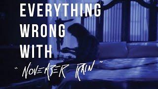 "Everything Wrong With Guns N' Roses - ""November Rain"""
