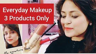 Everyday Natural Makeup Tutorial For Indian Skin. Subtle Makeup Look.Date Night Makeup Look