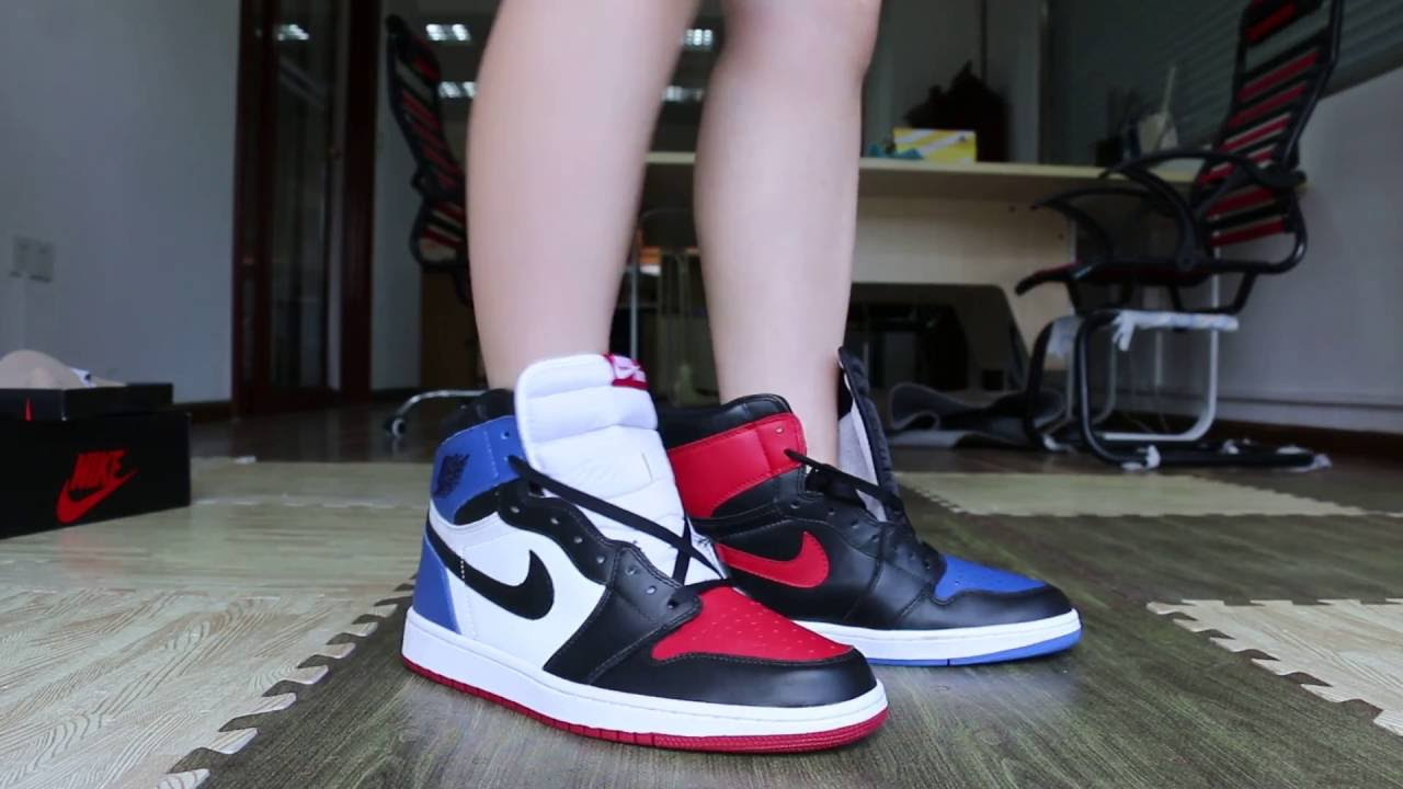 4e5f468c3cf Air Jordan 1 High OG Top 3 On Feet HD Review from gogoyeezy.ru - YouTube