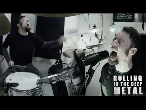 Rolling In The Deep (metal cover by Leo Moracchioli)