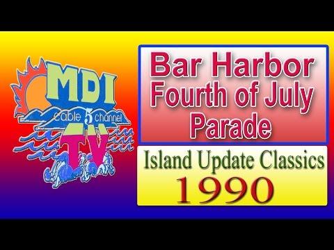 Fourth of July Parade  Bar Harbor  1990