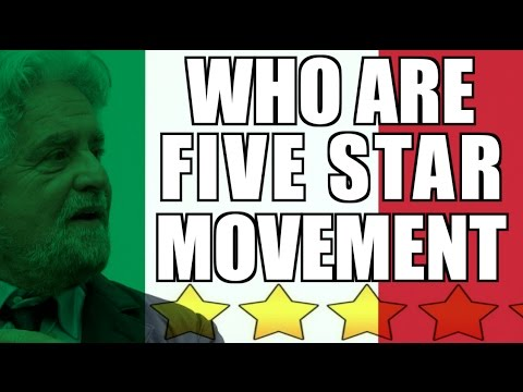 Who are Italy's Five Star Movement?