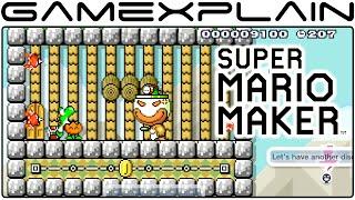 GameXplain Discussion - Super Mario Maker Level Showcase